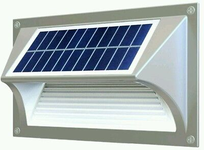 High Qualty Decorative Solar Powered  Aluminum Case  Wall Stair Step Lights