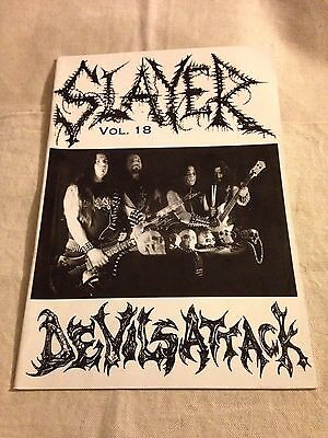 SLAYER MAGAZINE Volume 18 Heavy Metal Zine