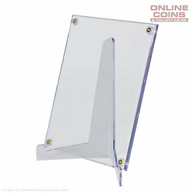 Ultra-Pro Large Clear Lucite Easel Display Stand for Cards Coin Stamps and Notes