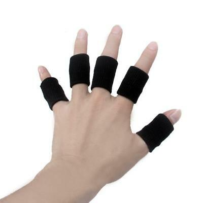 10pcs Sports Basketball Volleyball Finger Support Protector Sleeves Guard