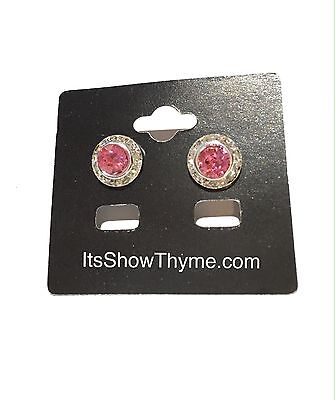 Horse Show Earring Pageant Fashion Earrings Rose