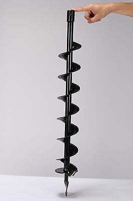 Earth Auger Drill Bit 100mm Post Hole Borer Ground Drilling Pile ROBUST DRILL