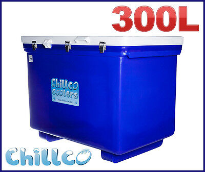 300L Chillco Ice Box Cooler Chilly Bin Ice Chest Superior Ice Retention-Rrp $900