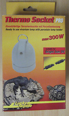 Lucky Reptile Thermo Socket Pro mit Ring - Keramikfassung und Steckverbindung