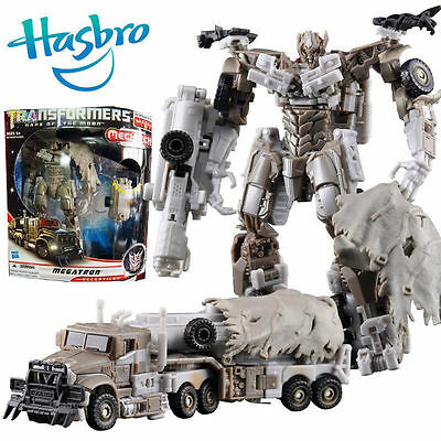 Hasbro Transformers Car Action Figures Dark Of The Moon Megatron Robot  Kids Toy