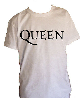 fm10 t-shirt baby QUEEN print WHITE also in other colours request MUSIC