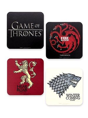 Game Of Thrones Untersetzer Set