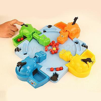 Grab & Go Hungry Hungry Hippos Game Parent-child Interaction Family Game Toy