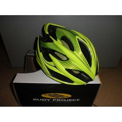 CASCO RUDY PROJECT WINDMAX YELLOW FLUO' SHINY Tg. S/M