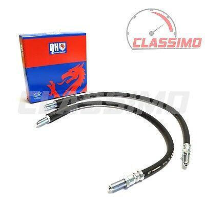 Front Brake Flexi Hose Pair for FORD CORTINA MK 4 5 - 1976-1982 - Quinton Hazell
