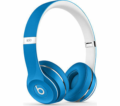 BEATS BY DR DRE Solo 2 Headphones Luxe Edition Blue On-ear headphones