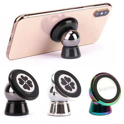 Car Phone Holder Universal Mount Magnetic Stand Iphone X 7 Plus Samsung Gps 360