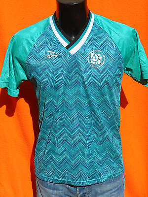 SCORE Jersey Maillot Camiseta Maglia Made in USA True Vintage Porté Worn Soccer