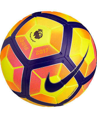 Premier League PL Strike Nike Football Ball yellow orange 2016 17