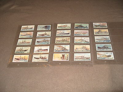 Cigarette Card Set WILLS THE WORLDS DREADNOUGHTS 1910