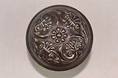 Antique Brass Door Knob Elaborate Design
