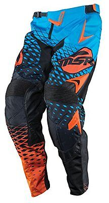 Msr M15 Nxt Motocross / Atv Offroad Riding Pants Blue Orange Size 28