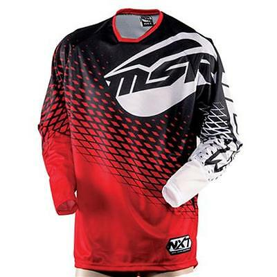 Msr M15 Nxt Motocross / Atv Offroad Riding Jersey Red/black Size Small