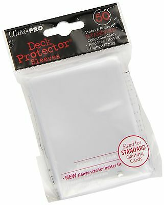 Ultra Pro SLEEVES 50 d12 Card Game (Clear)