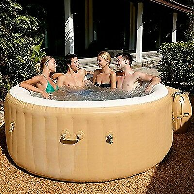 Lay-Z-Spa Palm Springs Inflatable Portable Hot Tub Spa 4 - 6 Person