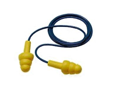 3M Ultrafit Corded Reusable Ear Plugs, Ear Protection Plugs, 32 db