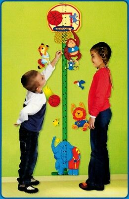 Meter/meter of growing/height for children with adhesives