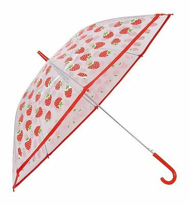 Umbrella with prints Strawberry for bambine