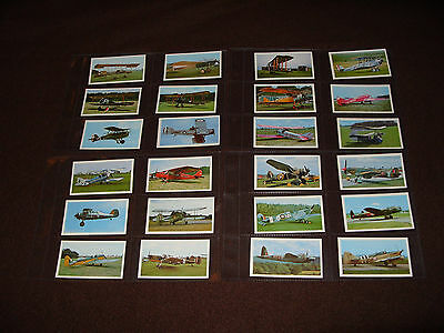 Cigarette Card Set DONCELLA ( Players ) THE GOLDEN AGE OF FLYING  1977
