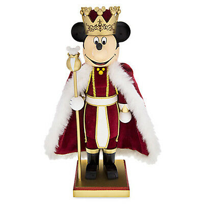 Disney Mickey Mouse King Nutcracker Figure 14'' Holiday New with Box
