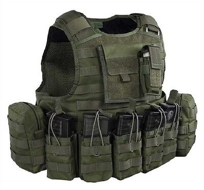 Warrior Assault RAPTOR G36 Plattenträger Army Plate carrier Weste Vest oliv M