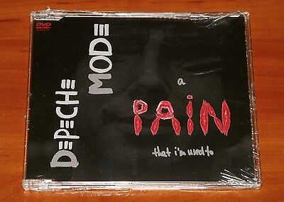 Depeche Mode A Pain That I'm Used To *rare Dvd Cd Single Mute Eu 2005 New Sealed