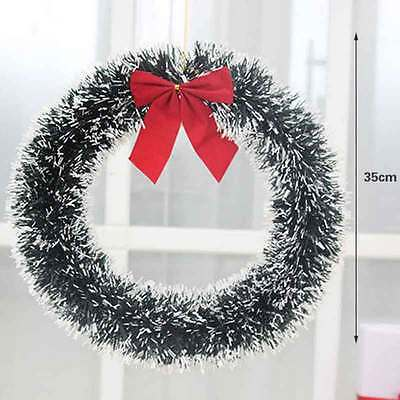 Christmas Wreath Door Hanging Decoration Festival Home Party Ornaments top