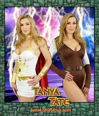 8 x 10 Tanya Tate Tanya Tate She Ra CosplaPrint Signed w/ Your Name Just For You