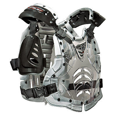 Fly Racing Convertible II Clear Motocross Offroad Riding Chest Roost Protector