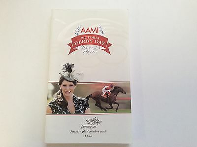 2006 Victoria Derby Day Official Race Book - Efficient - Horse Racing