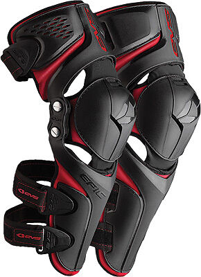 EVS Epic Black ATV MX Motocross Offroad Motorcycle Riding Knee Shin Guards