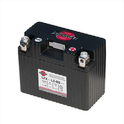 Shorai Lithium Ion Powersport Motorcycle Battery 12V Case Type 2 LFX07L2-BS12