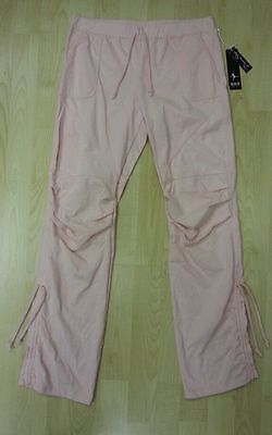4x Pairs Bloch Akbany CP1228 - Girl Hip Hop Pants - Pink - Child Large