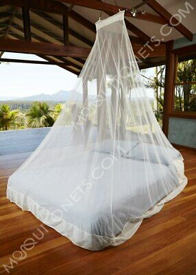 Travel Mosquito Net. WedgeNet. Queen  Treated.