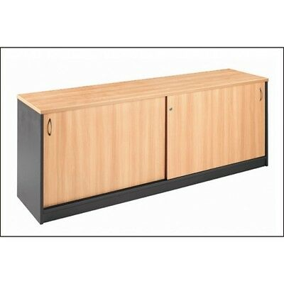 NEW office home Sliding Doors lockable storage Cabinet buffet Credenza 1800 W