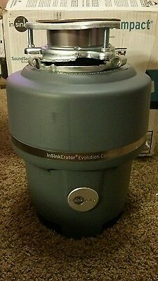 InSinkErator Evolution Pro COMPACT 3/4 HP Garbage Disposer - Brand New!