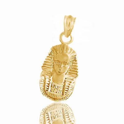 Christmas Special New 10K Yellow Gold Over King Tut Pendant