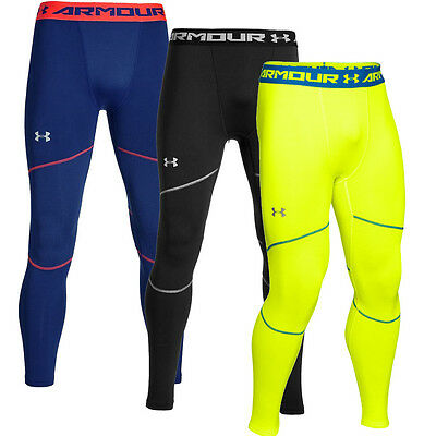 2016 Under Armour Armour®Stretch ColdGear Leggings Mens Sports Compression Tight