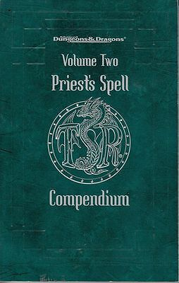 Advanced Dungeons & Dragons: Priest's Spell Compendium - Volume Two (engl.)