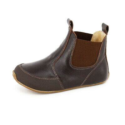 NEW SKEANIE KIDS Toddler Leather Riding Boots Chocolate. Sizes EU20 to 30.