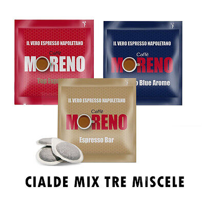 300 Cialde Caffe' Moreno Miscela Mix Ese 44 Mm Or
