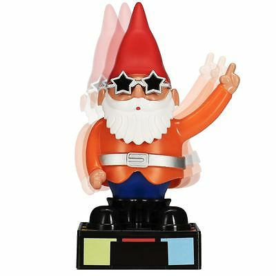 Solar Powered Disco Gnome Dancer Toy Dancing Figure