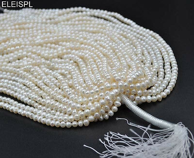 wholesale 10 strings 5-6mm real freshwater pearl lots Free shipping