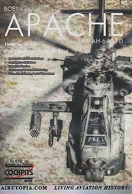 Boeing Apache Longbow AH-64 Attack Helicopter (DVD) (Greek Army Aviation)