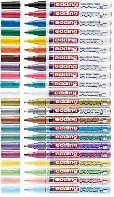 Edding 751 Lackmarker Creative Glanzlackmarker 1-2mm Lackstift paint marker ALLE